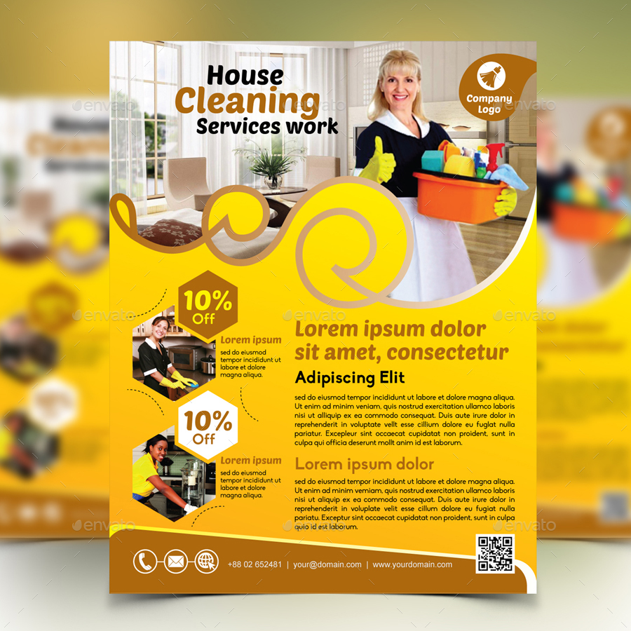 cleaning service flyer by design station graphicriver preview image set 01 preview1 jpg