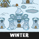 Top-Down Winter Tileset