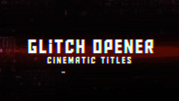 VideoHive Digital Glitch Opener 19291072