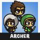 Tiny Style Archer
