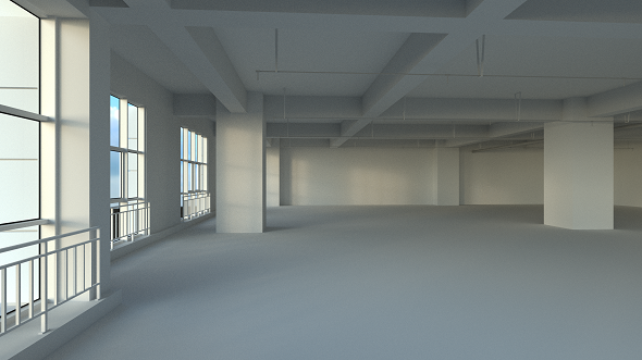Office space - 3DOcean Item for Sale