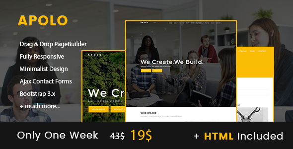 Download Apolo // Onepage Creative Business Joomla Template