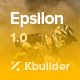Epsilon - Multipurpose Email Template + Builder 2.0
