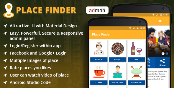 Download Place Finder Android App nulled download
