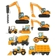 Different Types of Construction Vehicles