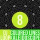 Colored Lines Kaleidoscope Dj Loop V8