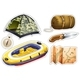 Download Vector Sticker Set of Camping Equipments