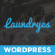 Laundry Business WordPress theme