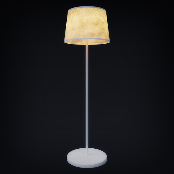 Floor Lamp (3dsmax + Vray Ready) - 3DOcean Item for Sale