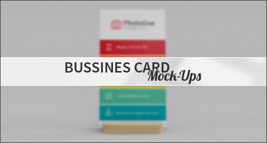Bussines Card Mock-Ups