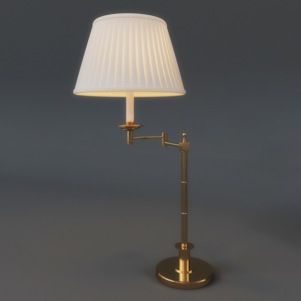 Table Lamp (3dsmax + Vray Ready) - 3DOcean Item for Sale