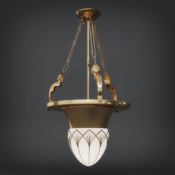 3DOcean Hanging Light 3dsmax & Vray Read 19295938