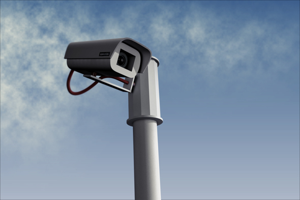 3DOcean CCTV camera 73387