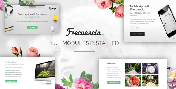 Image of Frecuencia - 100+ Modules - Email + Online Template Builder