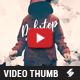 Dubstep Mixtape - Video Thumbnail Artwork Template