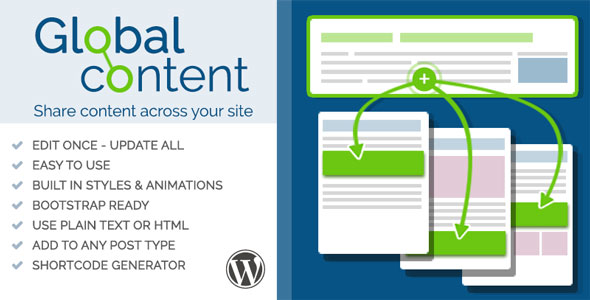 Download PMR Global Content for WordPress nulled download