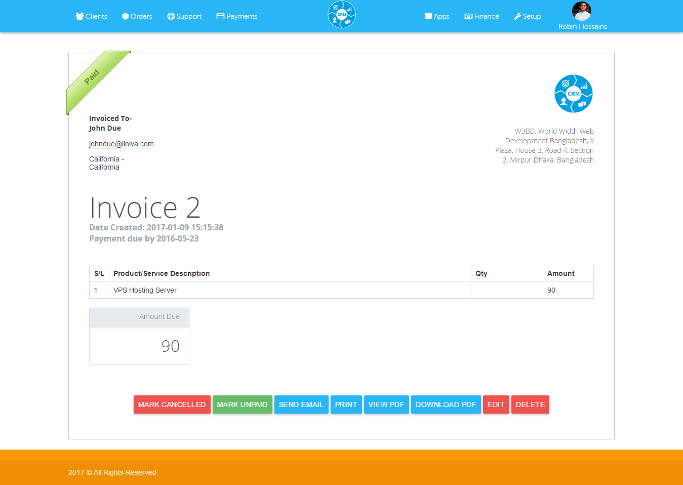 all in one business invoice management system software crm all in one business invoice management system software crm material design