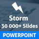 Storm Powerpoint Presentation Template