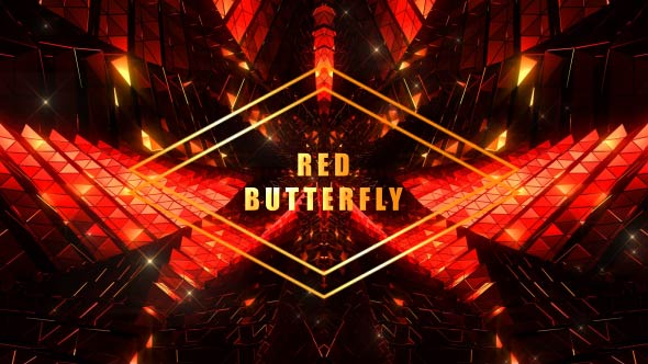 VideoHive Red Butterfly 19297724