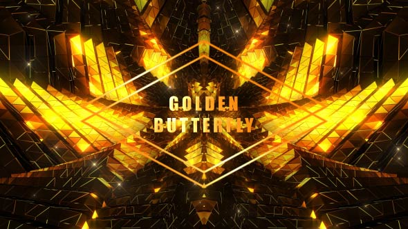 VideoHive Golden Butterfly 19297770