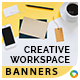 Creative Workspace Banners