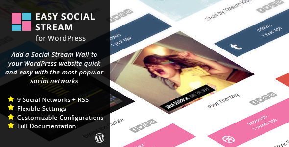 Easy Social Stream for WordPress