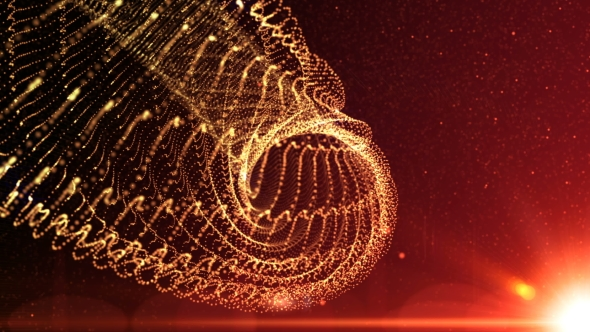VideoHive Abstract Motion Background Shining Lights Energy 19298394