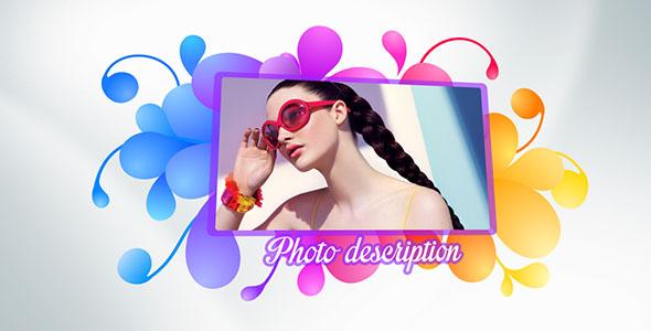 VideoHive Color shape slideshow 2 19298609