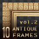 10 Antique Classic Picture Frames vol.2