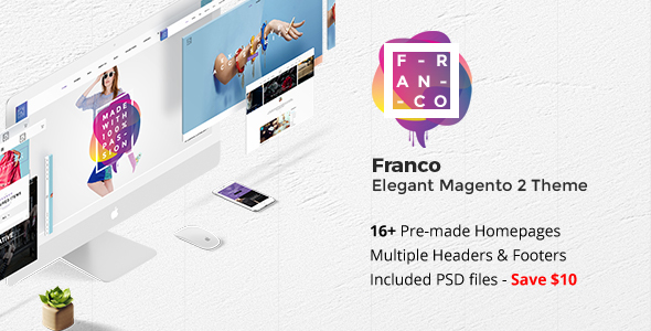 Download Franco - Elegant Magento 2 Theme nulled download