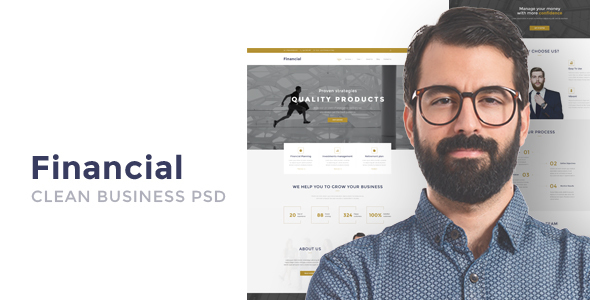 Download Financial - Clean Business WordPress Theme nulled download