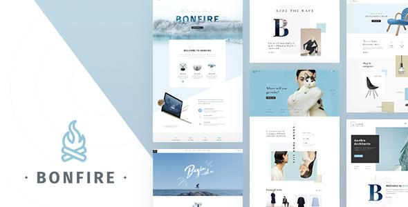 Bonfire – Inventive Multi-Objective PSD Template (Inventive)