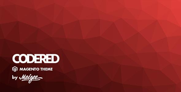 Themeforest Codered - Responsive Magento Theme 19030973