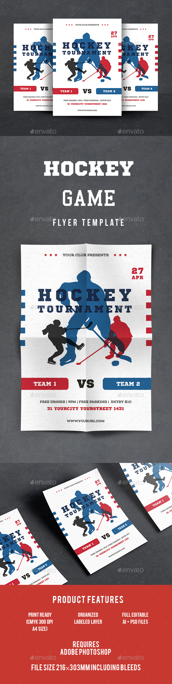 Hockey tournament graphics designs templates maxwellsz