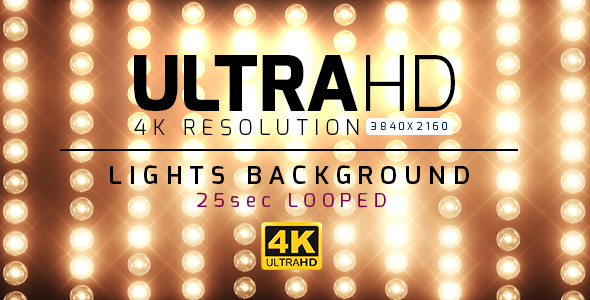 VideoHive 4K Lights Background 19299867