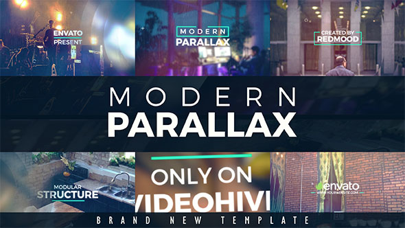 VideoHive Modern Parallax Slideshow 19299998