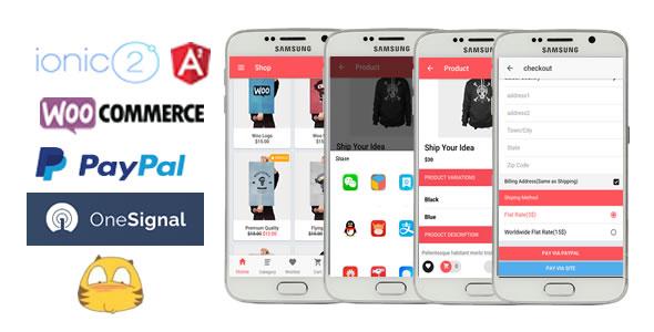 Ionic2WooStore-ionic 2 App for WooCommerce