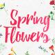 Watercolor pack: Flowers