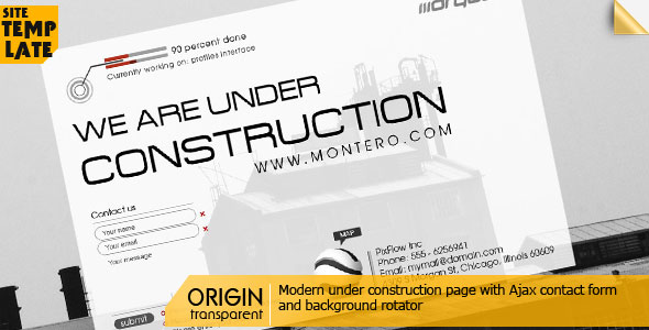 Origin - Modern Under Construction