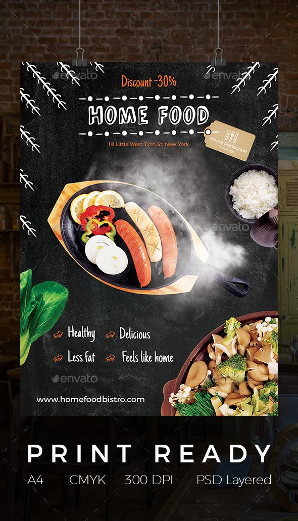 Home Food Flyer