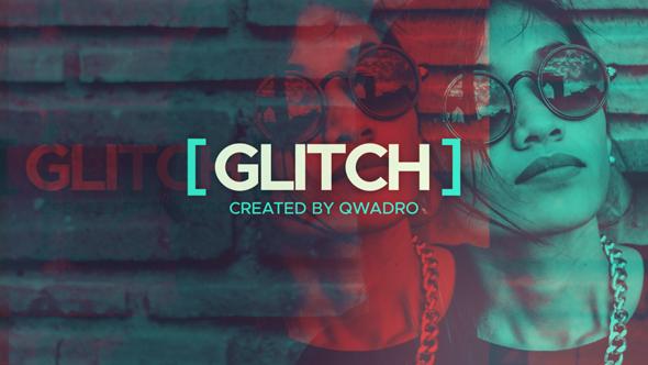 VideoHive Quick Glitch Slideshow 19301073