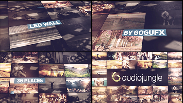VideoHive The Led Wall 19301119