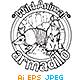 Animal Outline Vector -  Armadillo