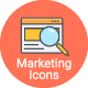 24 Mixed Marketing Icons