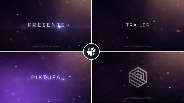 VideoHive Particles Trailer Titles 19302426