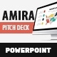 Amira - Pitch Deck Powerpoint Presentation Template