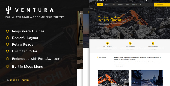 Download Ventura - Industrial WordPress Theme nulled download