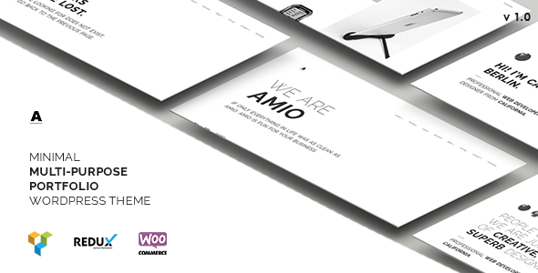 Download Amio – Minimal Multi-Purpose Portfolio WordPress Theme