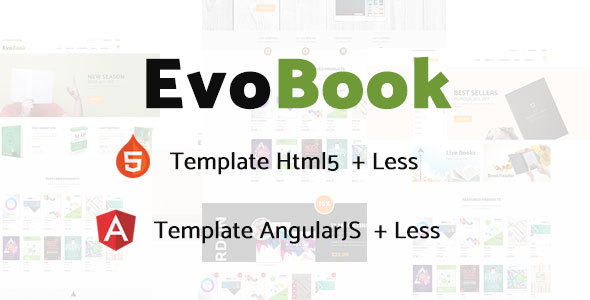 EvoBook Multi-Purpose Ecommerce Template