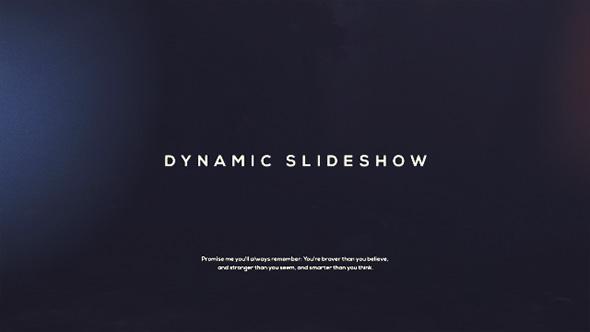 VideoHive Dynamic Slideshow 19305534